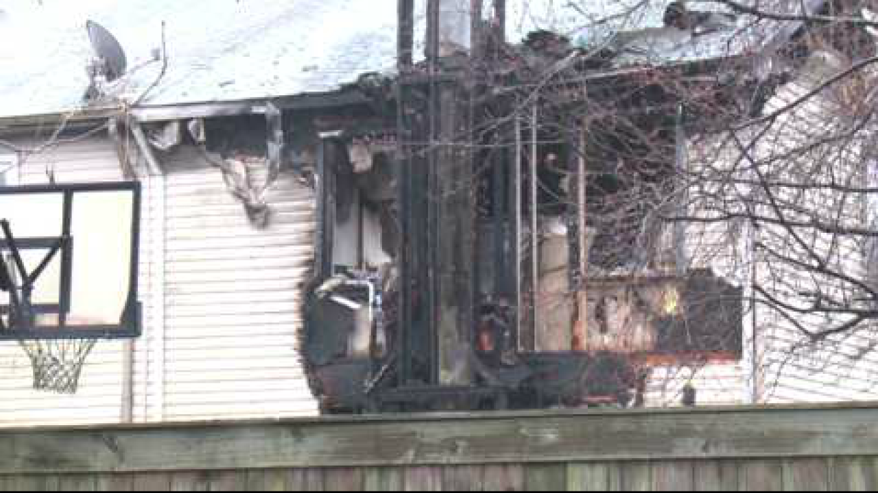 Family displaced after townhouse fire in VirginiaBeach