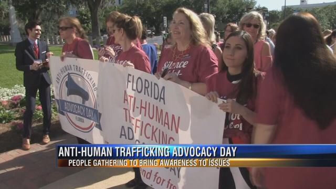Dozens Celebrate Anti-Human Advocacy at the Florida Capitol