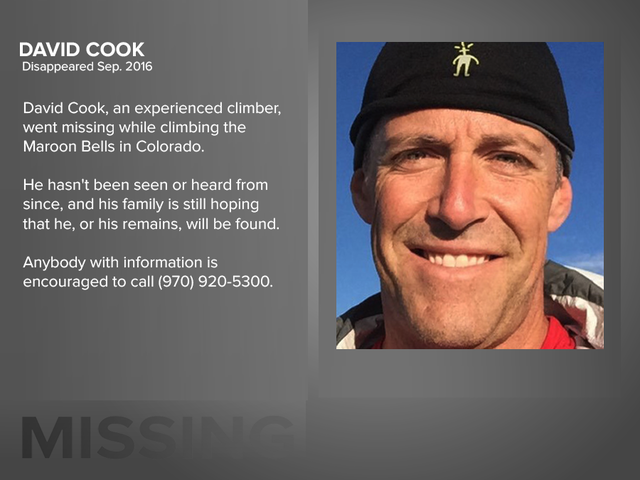 PHOTOS: 7 missing persons in Colorado with families on the hunt