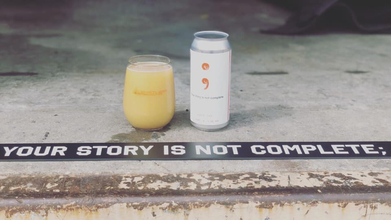Limitless Brewing suicide prevention beer