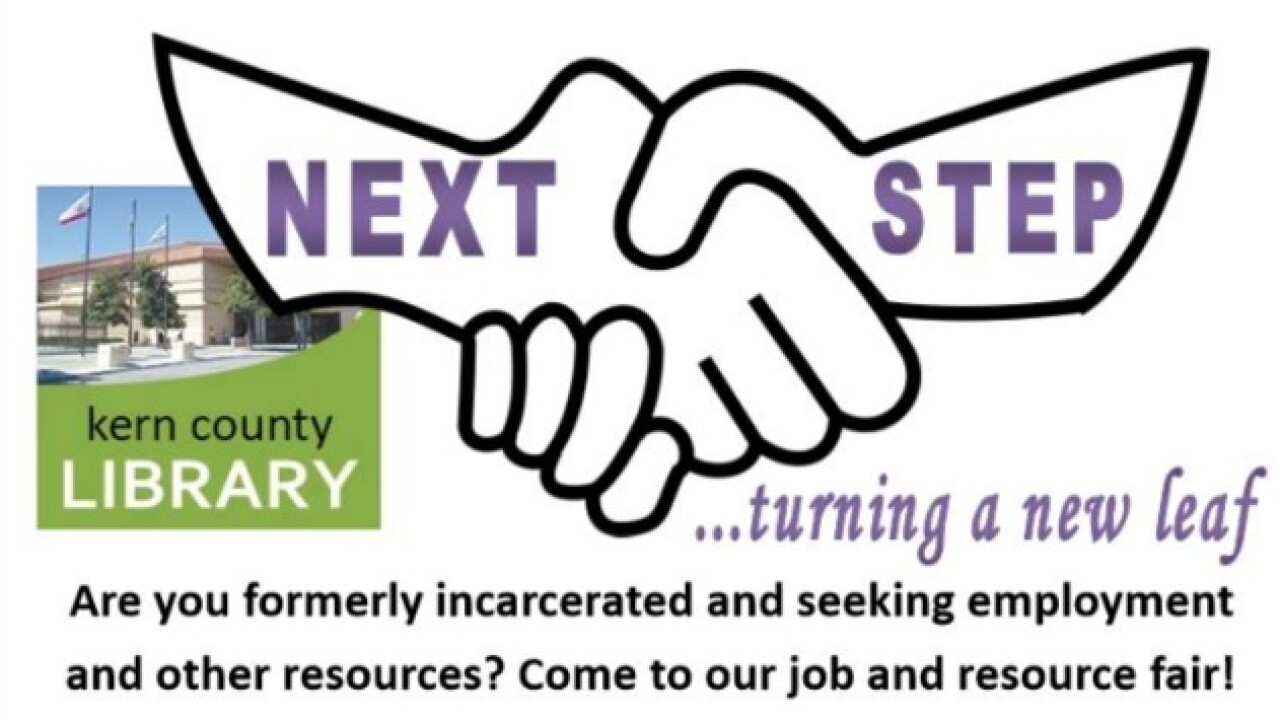 Kern County Library hosting resource fair for formerly incarcerated people and at-risk youth