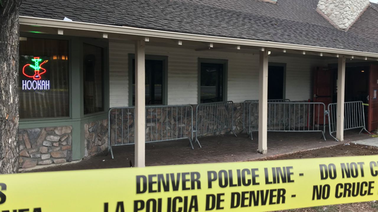 2 wounded in shooting amid police stakeout at Denver business