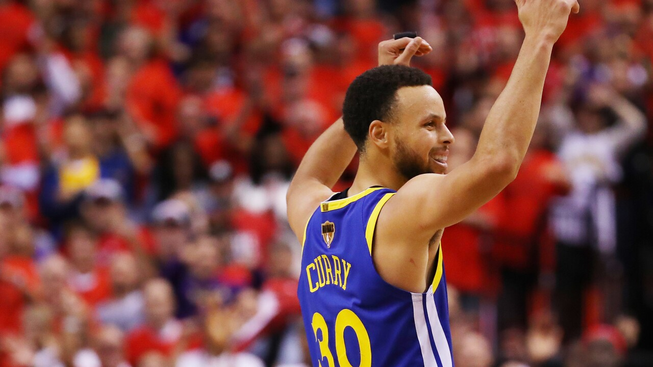 Warriors survive and keep NBA Finals alive with win over Raptors