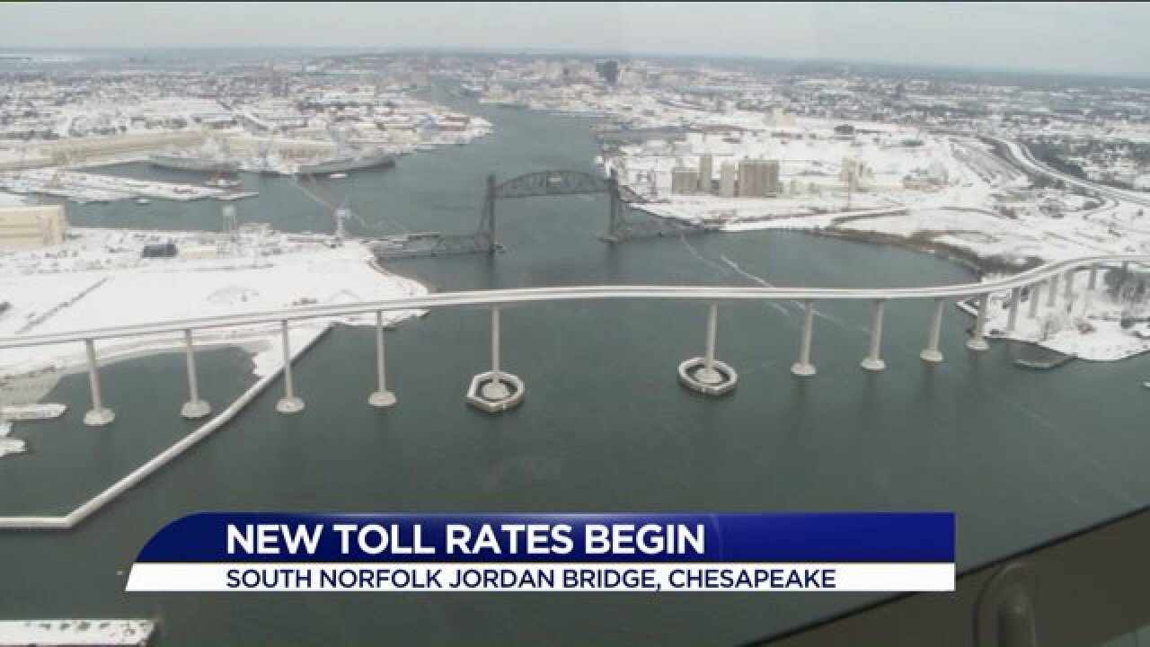 New Year means new toll rates for Hampton Roadsdrivers