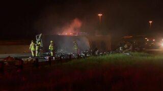 TP truck crash