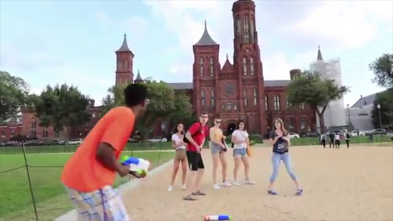 Viral water gun fight heads to DC: 'It's STILL mad hot'