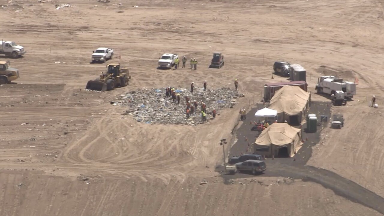 MCSO landfill search in Surprise