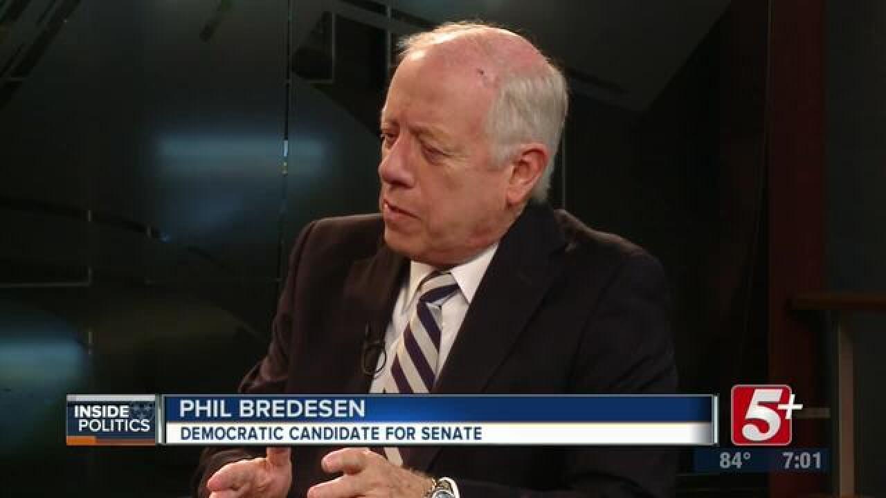 Inside Politics: Phil Bredesen Democratic candidate for U.S. Senate