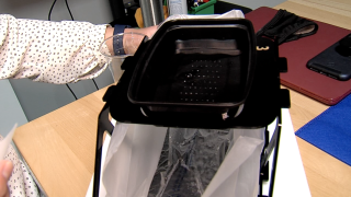 Hamilton County woman creates portable hand washing station