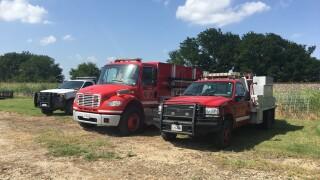Stolen firetrucks