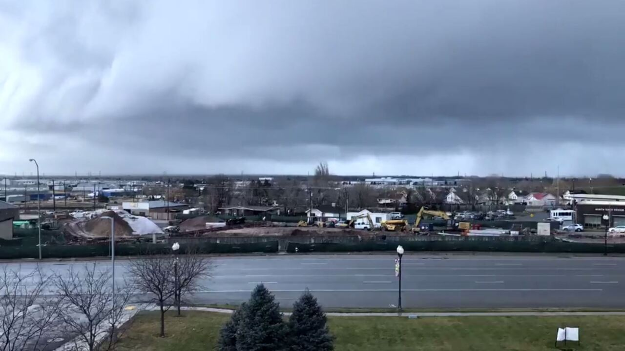 Time lapse: watch storm roll in to Clearfield
