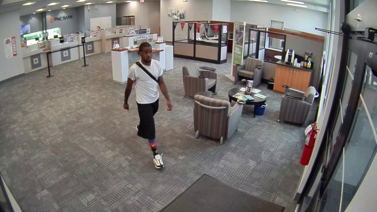 Suspect in Mason Bank Robbery 2