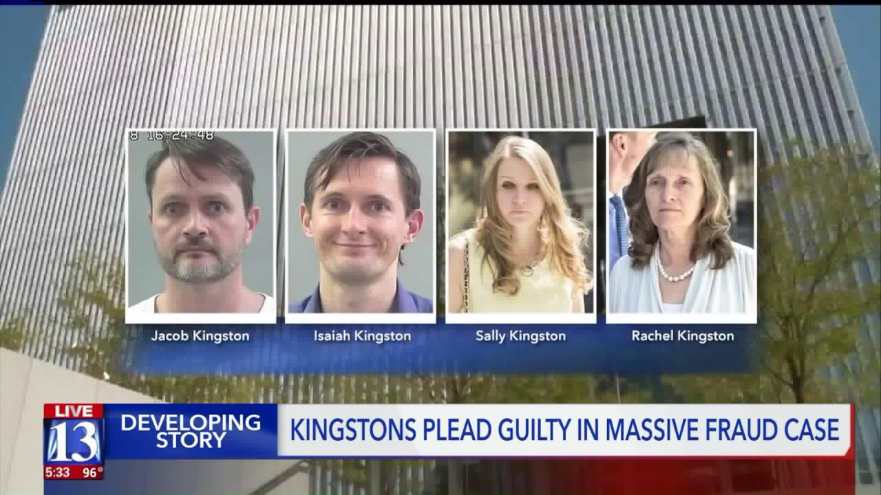 Members of the Kingston polygamous family facing fraud charges strike plea deal