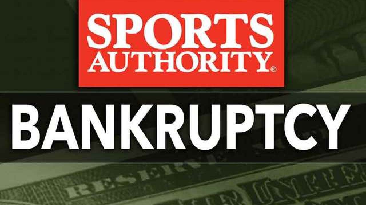Sports Authority closing all 460 stores