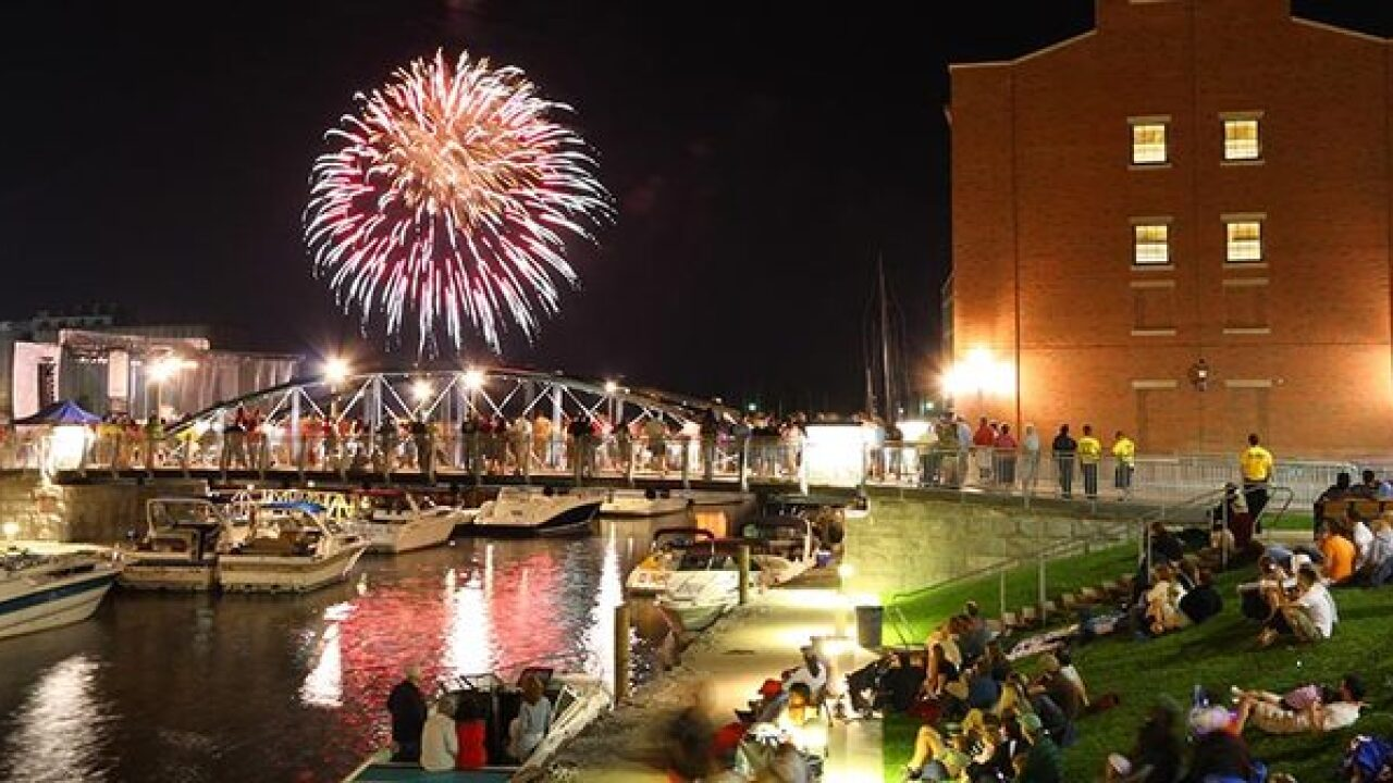Fireworks and Fourth of July festivities in WNY