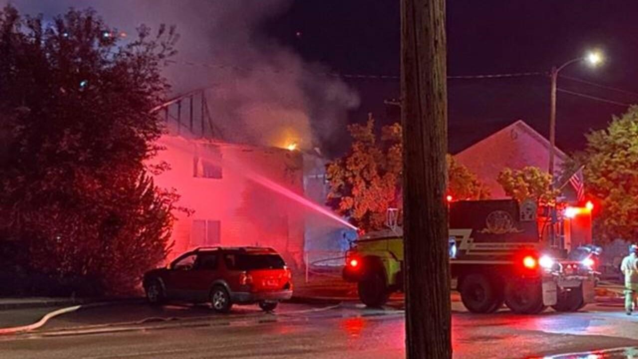 Corvallis Fire 4 July 6