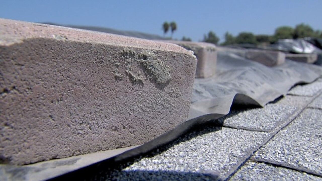 San Marcos woman battling HOA over roof issue