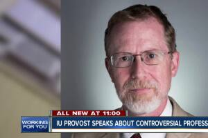 IU provost speaks about controversial professor