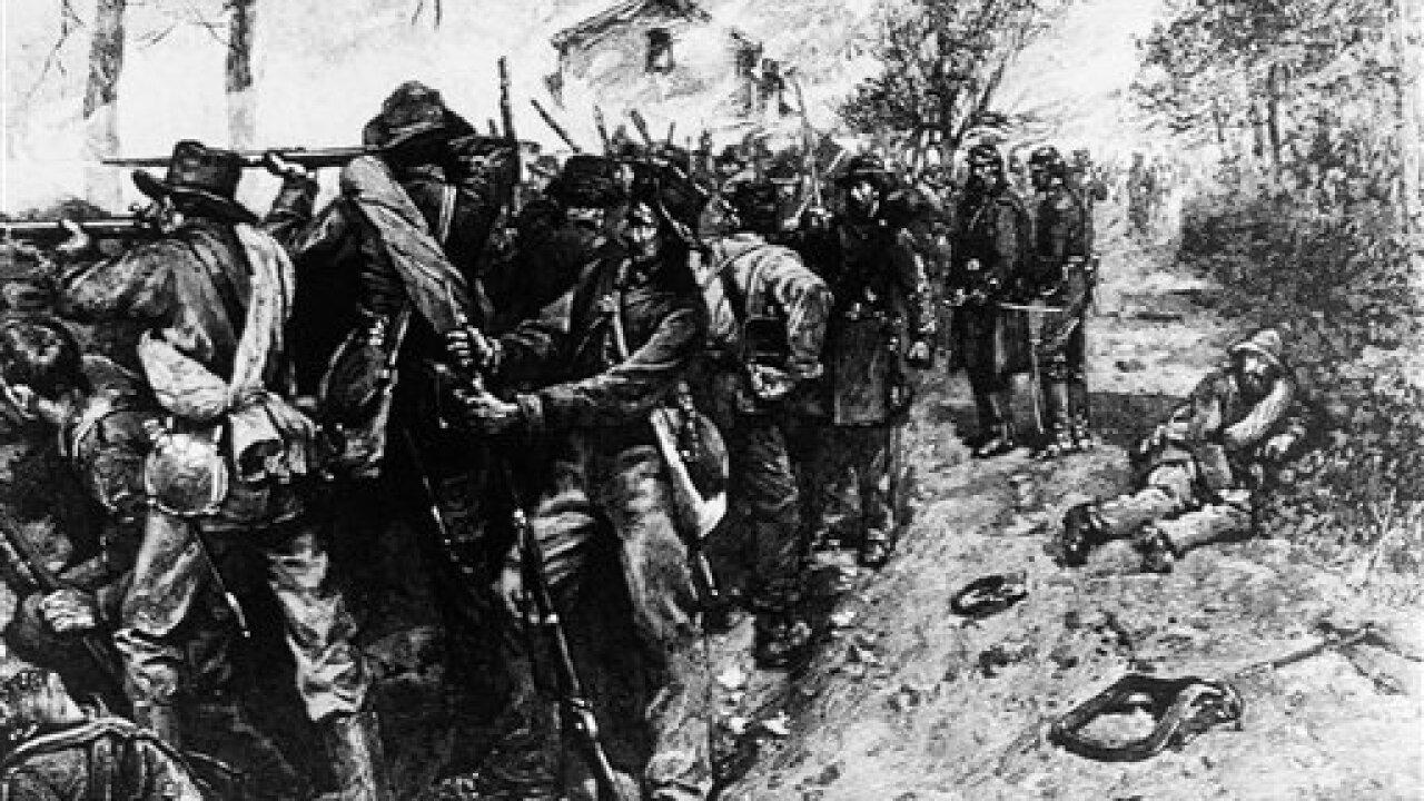 US Civil War Battle Of Fredericksburg 1862