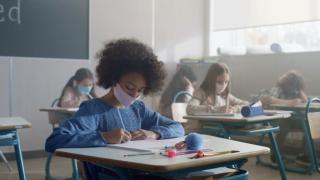 kids masks classroom school children
