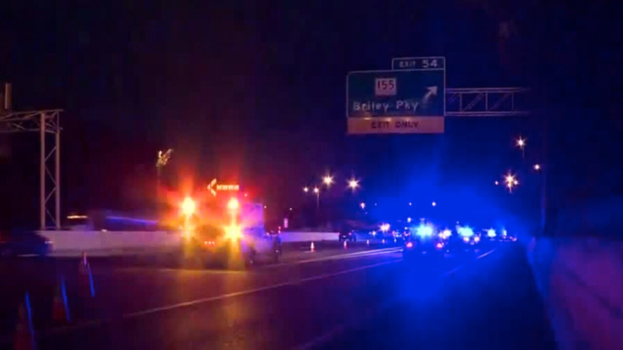 Man killed, woman hurt in shooting on I-24