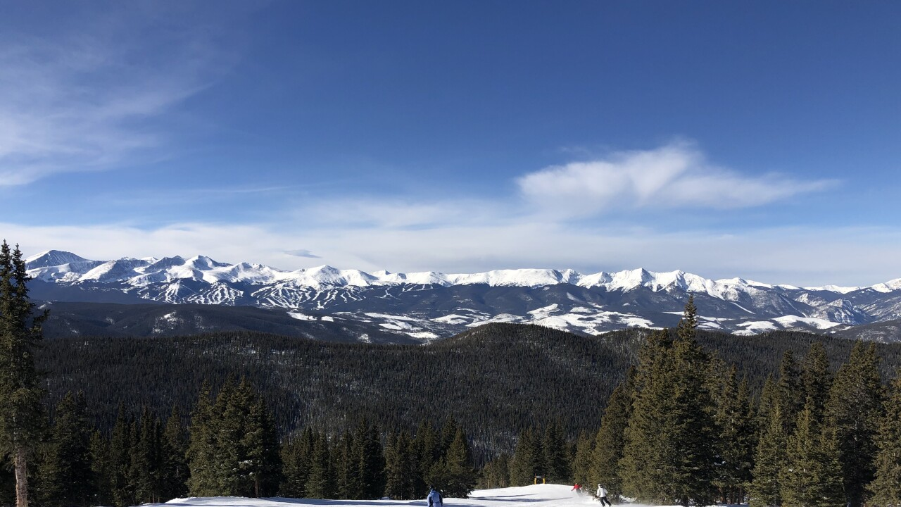 Ski Report Several Rounds Of Snow For The Mountains This
