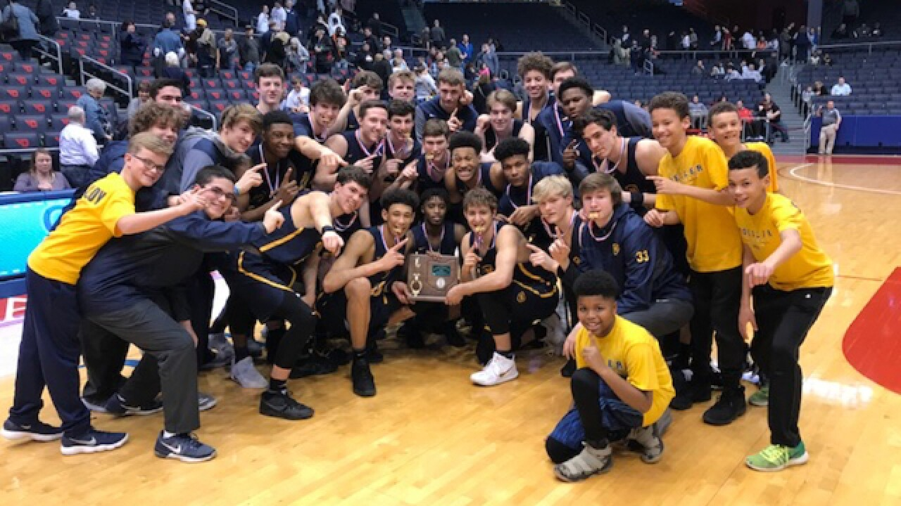 Moeller wins 5th straight district title, beats Kettering Fairmont 65-50