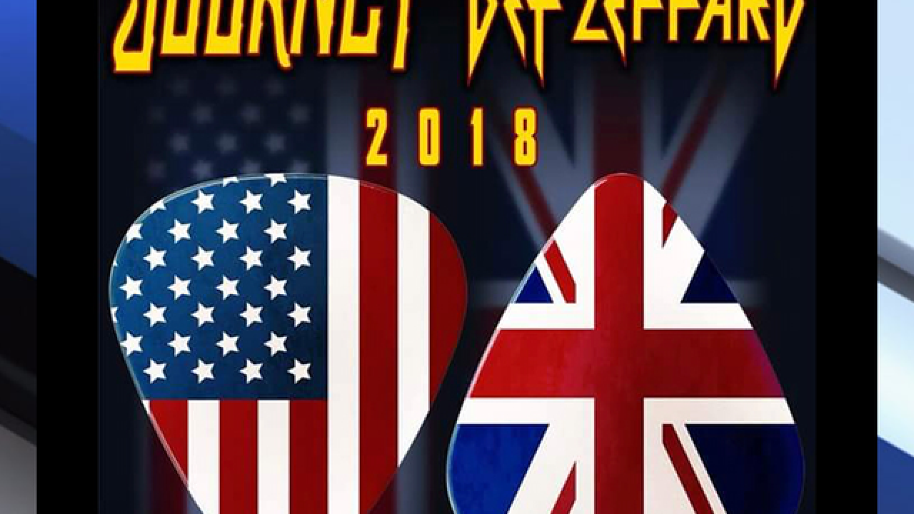 Journey & Def Leppard co-headlining tour, coming to Tampa's Amalie Arena in 2018