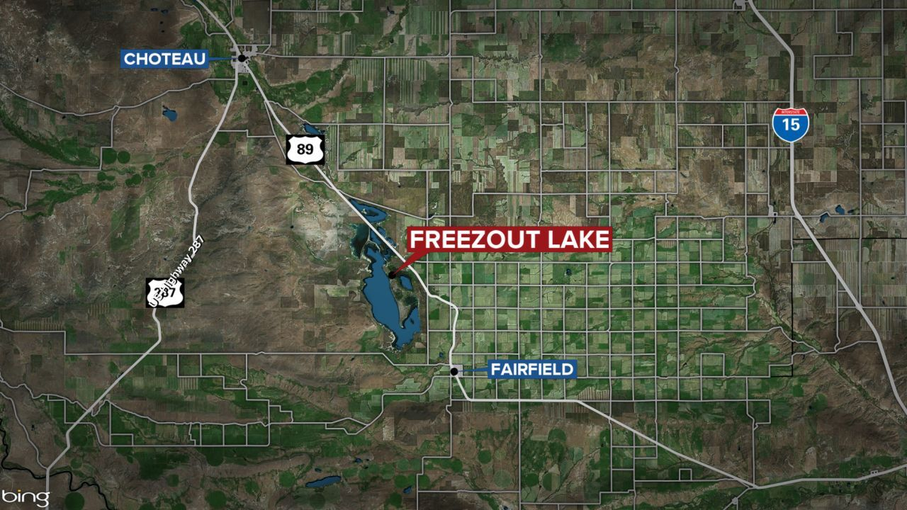freezout lake map