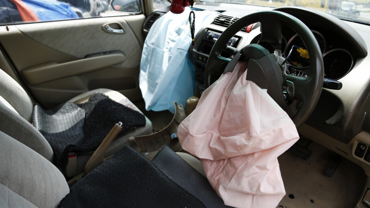 10 million additional airbags added to Takata air bags