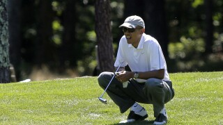 VIDEO: President Obama denied tee times at 3 New York golf courses