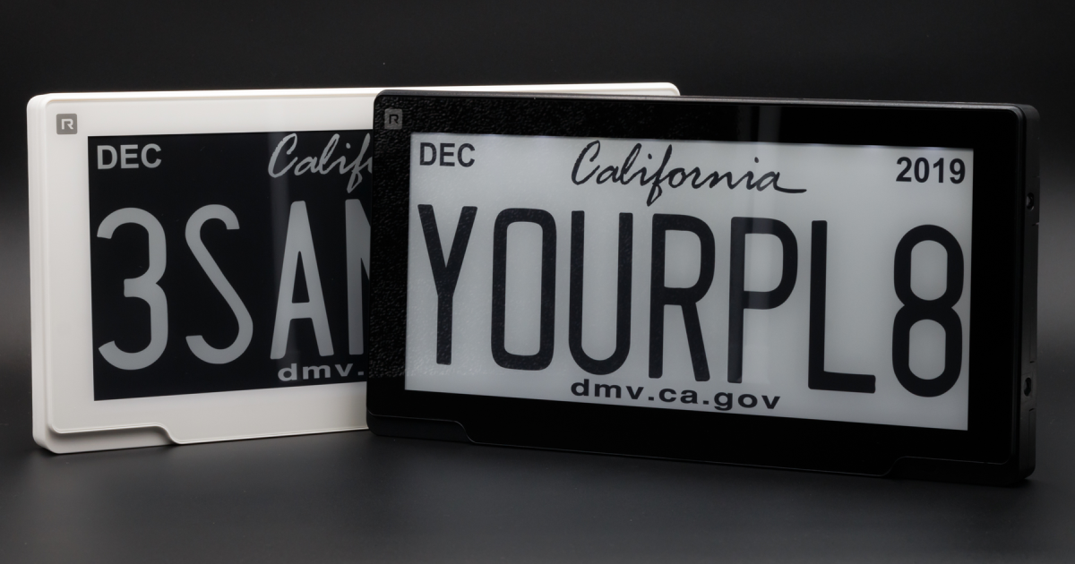 Digital license plates now legal in Michigan