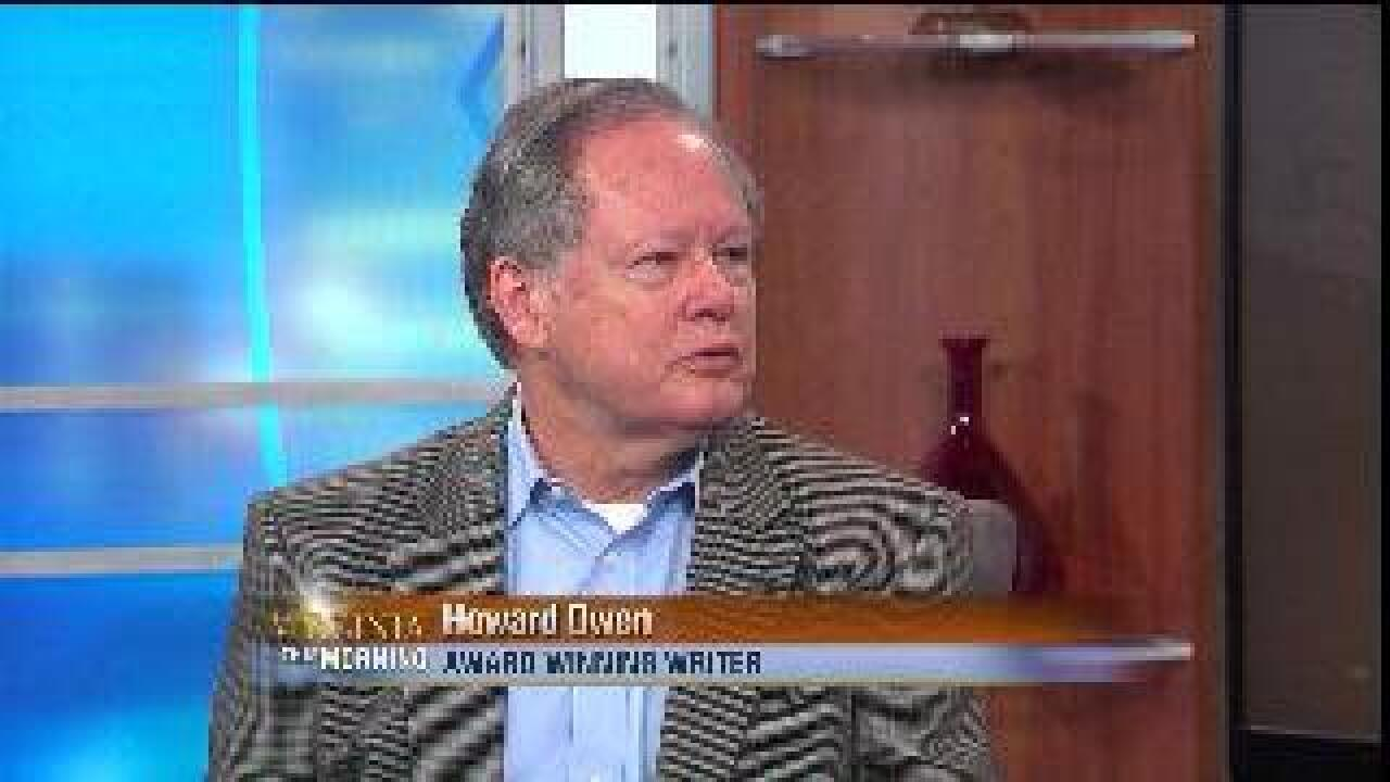 VIRGINIA THIS MORNING: Author Howard Owen