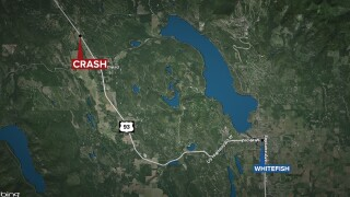Woman killed in crash near Whitefish ID'd