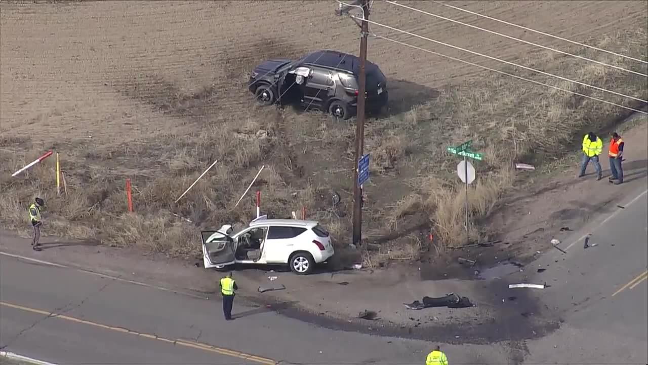 1 dead in head-on crash with Adams County sheriff's deputy