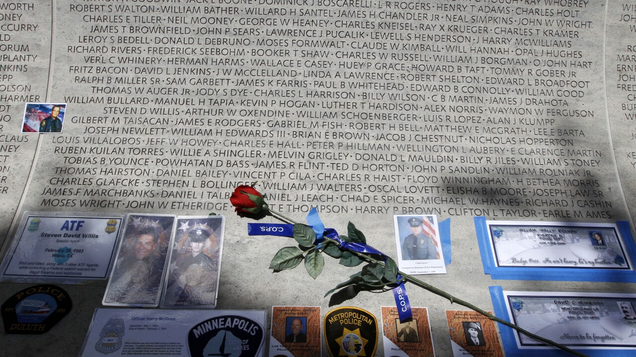 Police Memorial Wall
