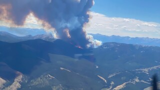 Bear Creek Fire nears 7,500 acres; remains 10 percent contained