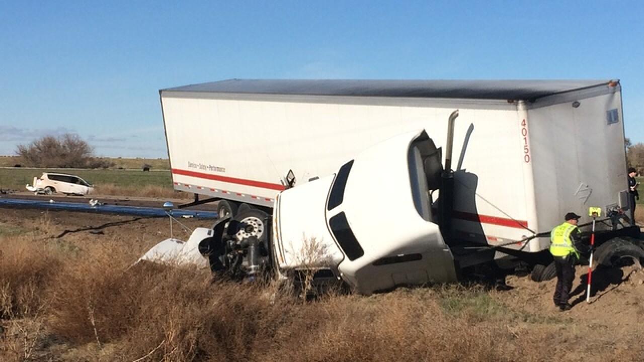 One dead following Highway 20/26 crash