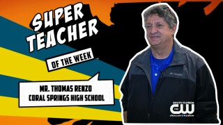 Super Teachers: Mr. Thomas Renzo