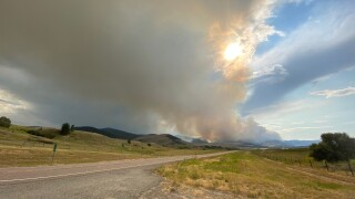 Magpie Creek Fire grows to 1,200 acres