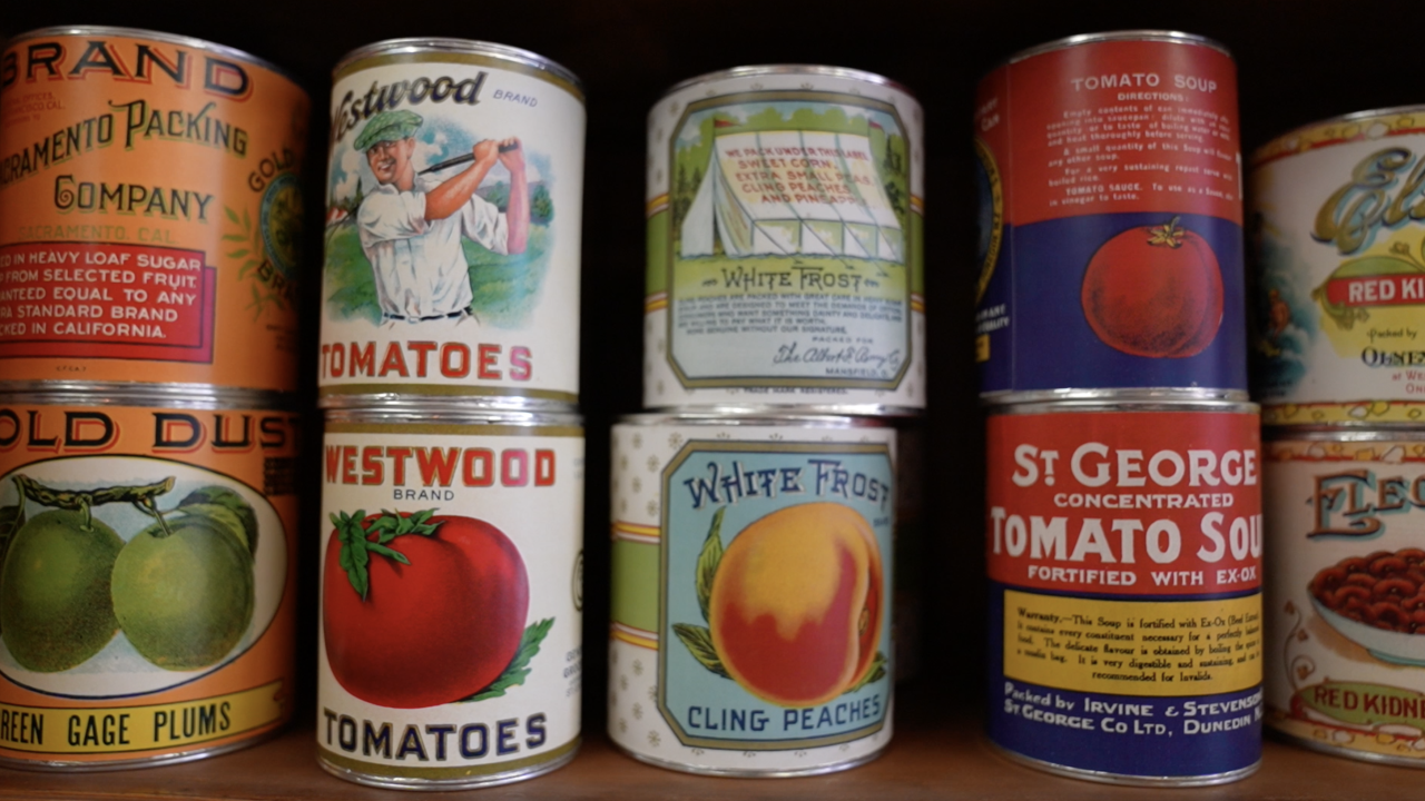 19th century cans