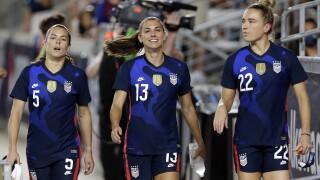 US Soccer-Morgan