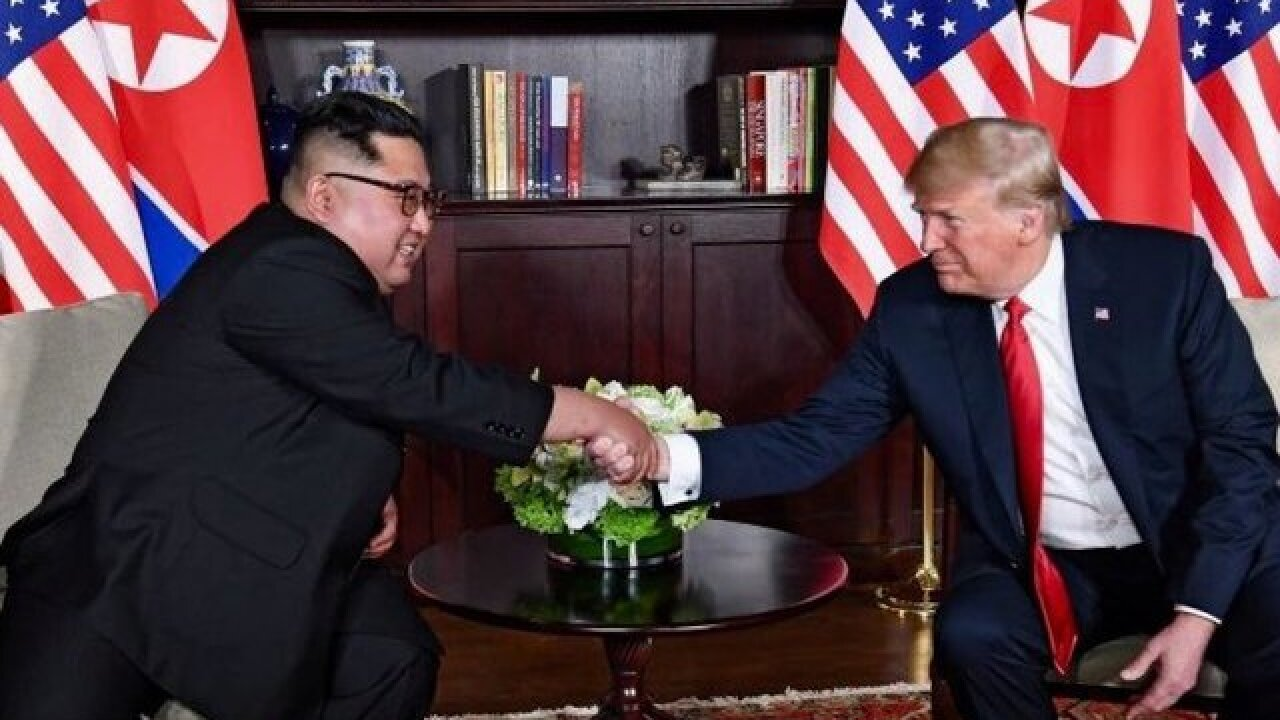 North Korea's Kim has 'unwavering trust' in Trump, South Korea says