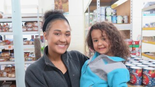 Troy Childs and daughter Azariah