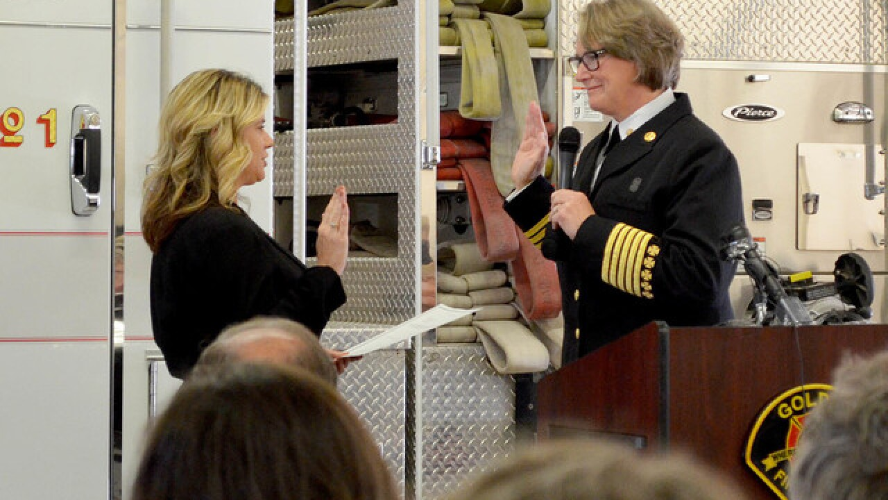 New Golden fire chief is first full-time female to hold that rank in Denver metro area