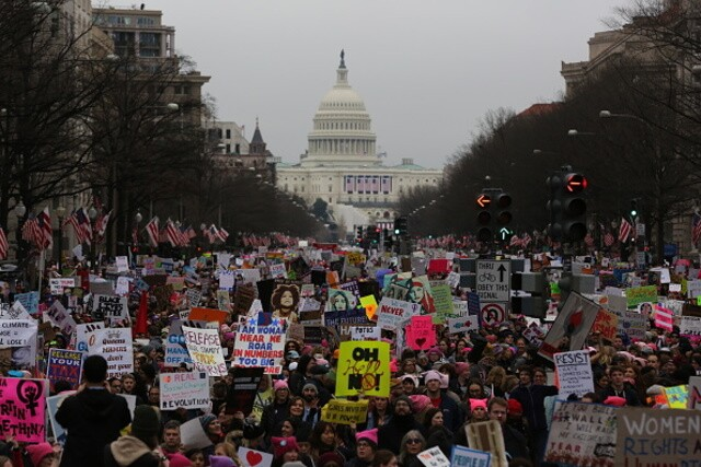 GALLERY: Most googled political protests of 2017