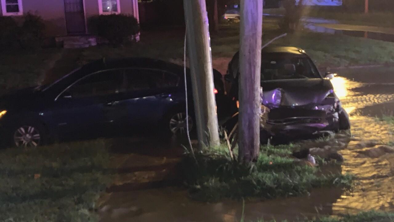 Juvenile injured after reportedly crashing stolen car inPortsmouth