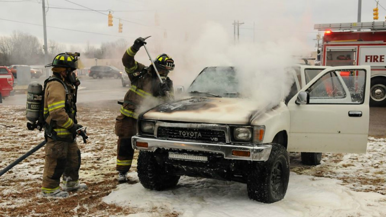 vehicle fire south haven township 011320.jpg