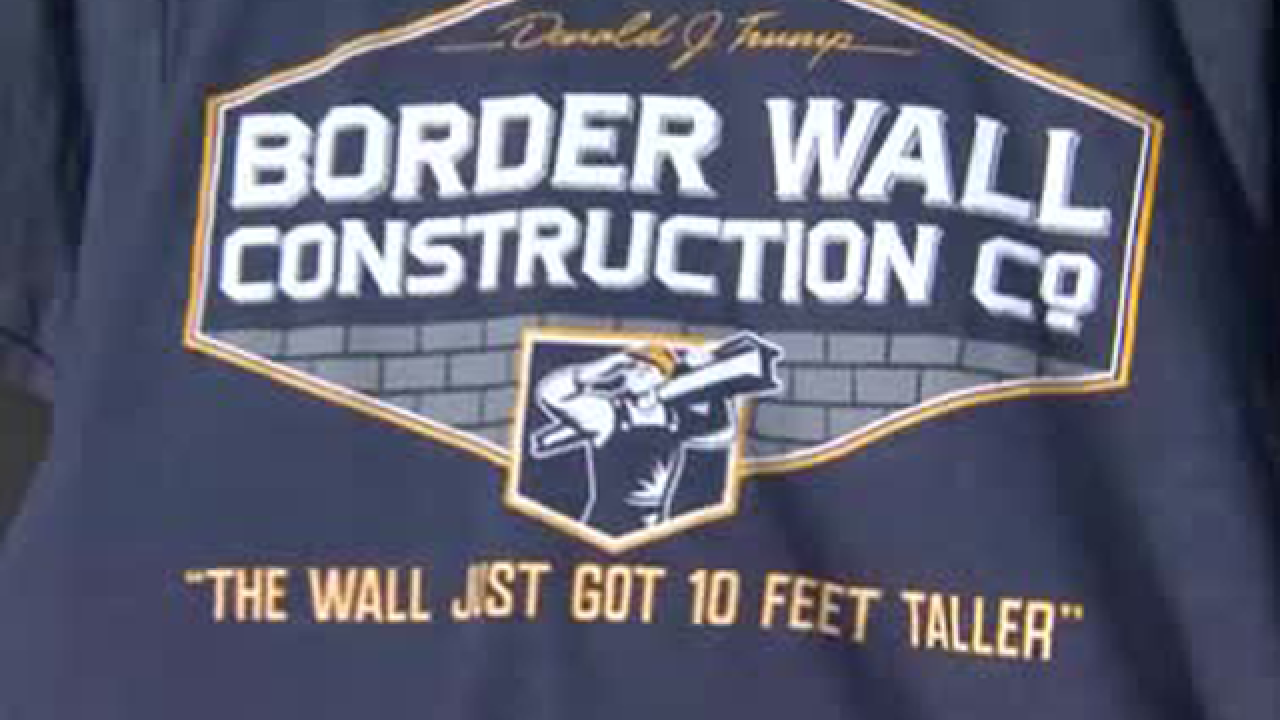 Oregon high school student sues over border wall T-shirt suspension