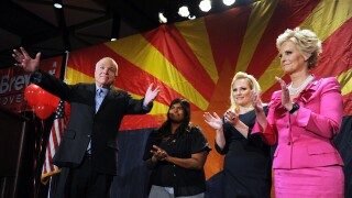 Sen. McCain Attends Arizona Republicans Election Night Party